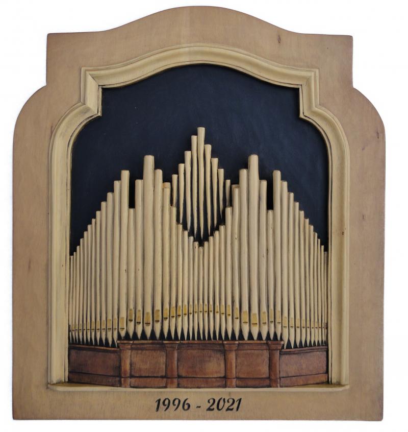 orgel uit gesneden