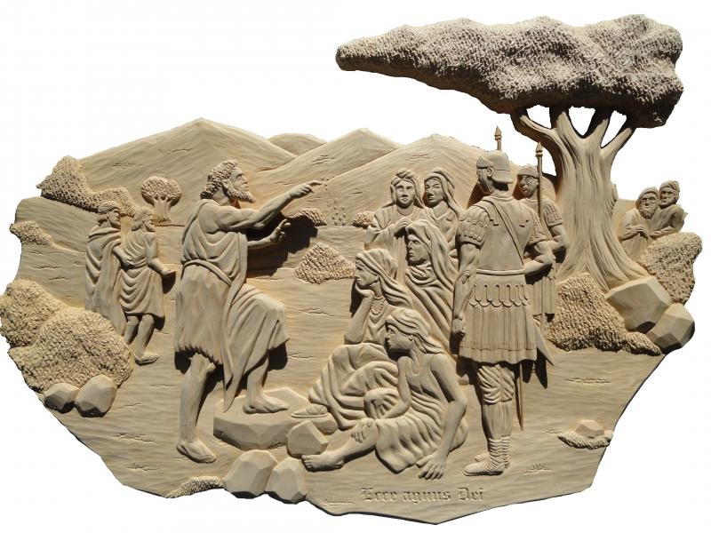Johannes de Doper bij de Jordaan