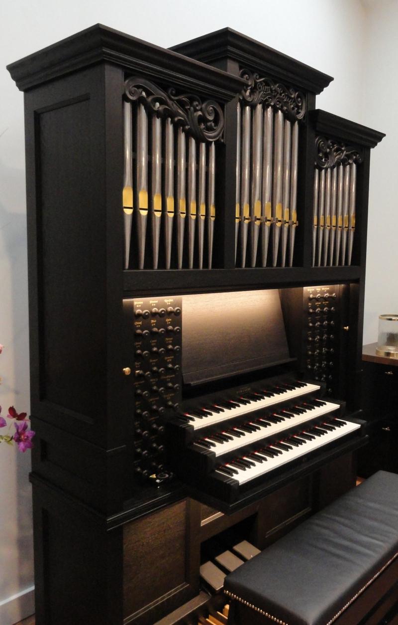 Houtsnijwerk voor orgel
