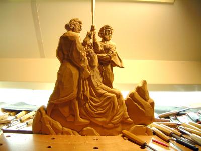 Mozes, Aaron en Hur