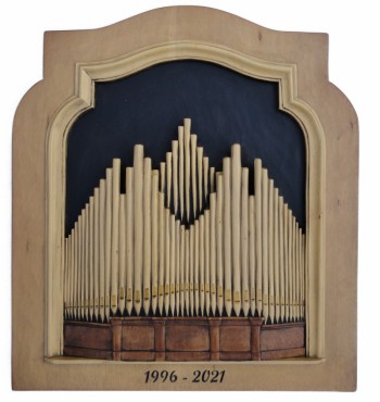 Orgel uitgesneden