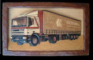 Vrachtwagen Van den Brink